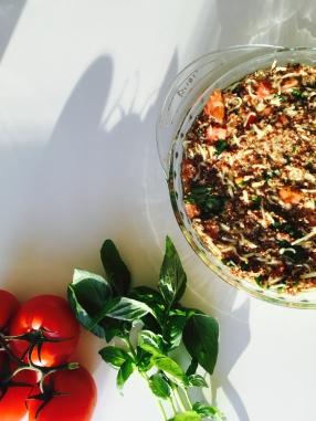 quinoa quiche